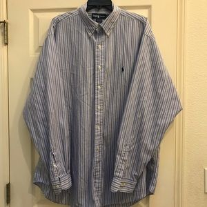 Ralph Lauren shirt with long sleeves.